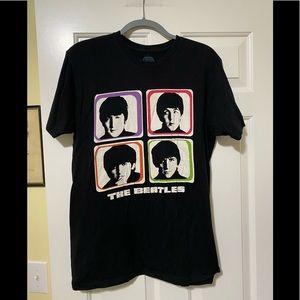 The Beatles band concert tour shirt L